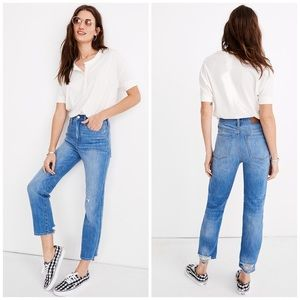 NWT Madewell Classic Straight Jeans Novello
